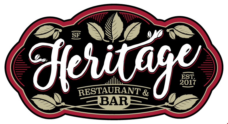 Heritage Restaurant & Bar - A California Cuisine Restaurant and Bar, located at 708 Clement St., Inner Richmond District, San Francisco, CA.